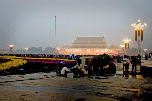 """121018 Tiananmen Square"" © 2008 Alegría Studio.  All rights reserved"